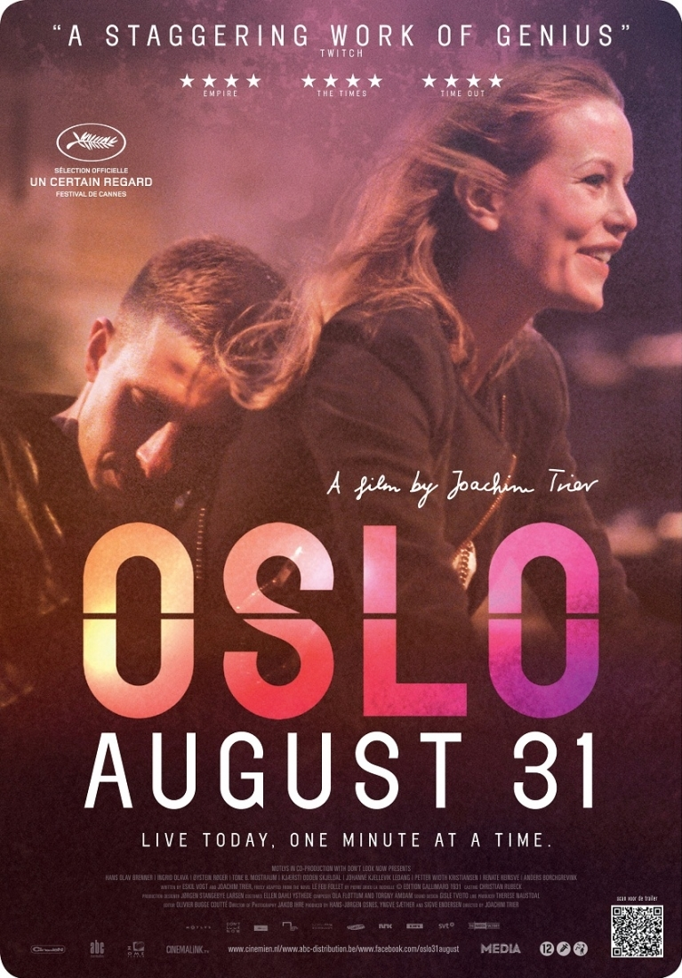 Oslo, 31. august poster, © 2011 Cinemien