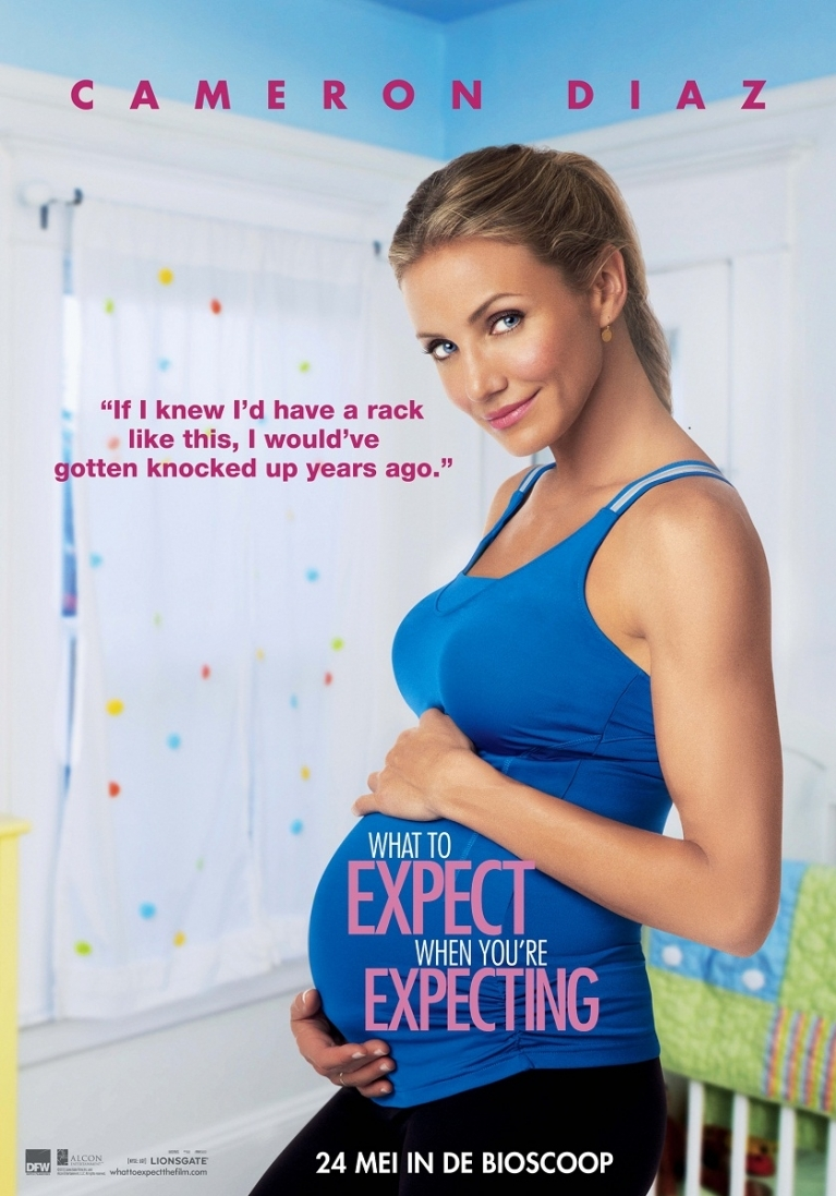 What to Expect When You're Expecting poster, © 2012 Dutch FilmWorks