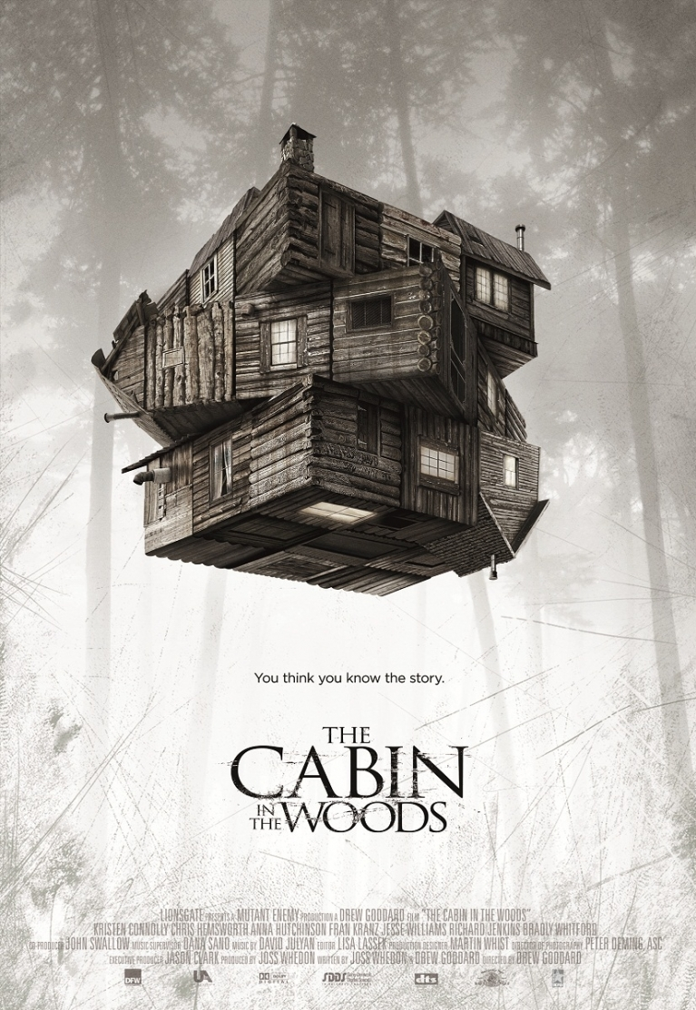 The Cabin in the Woods poster, © 2012 Dutch FilmWorks