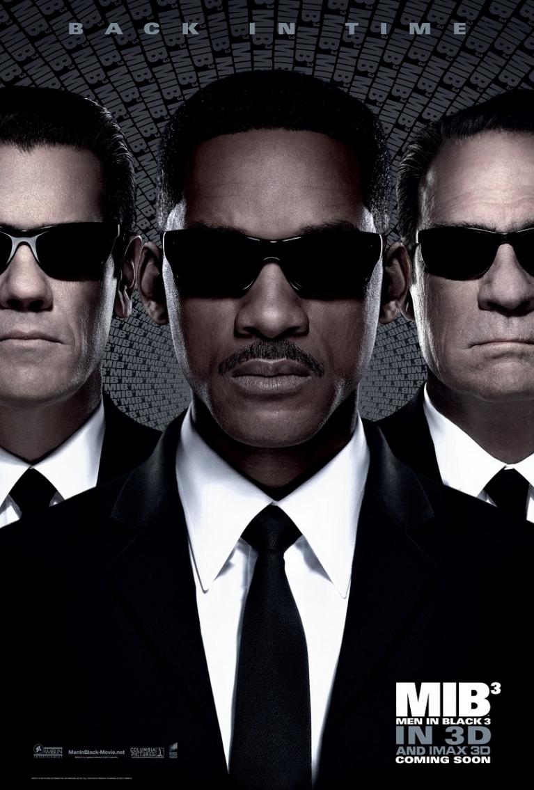 Men in Black III poster, © 2012 Sony Pictures Releasing