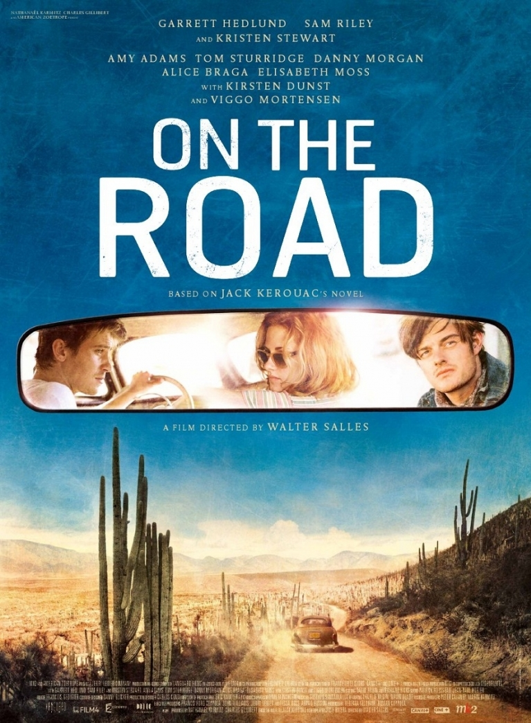 On the Road poster, © 2012 Cinéart