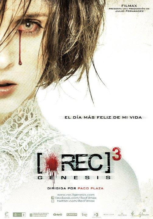 [REC]³ Génesis poster, copyright in handen van productiestudio en/of distributeur