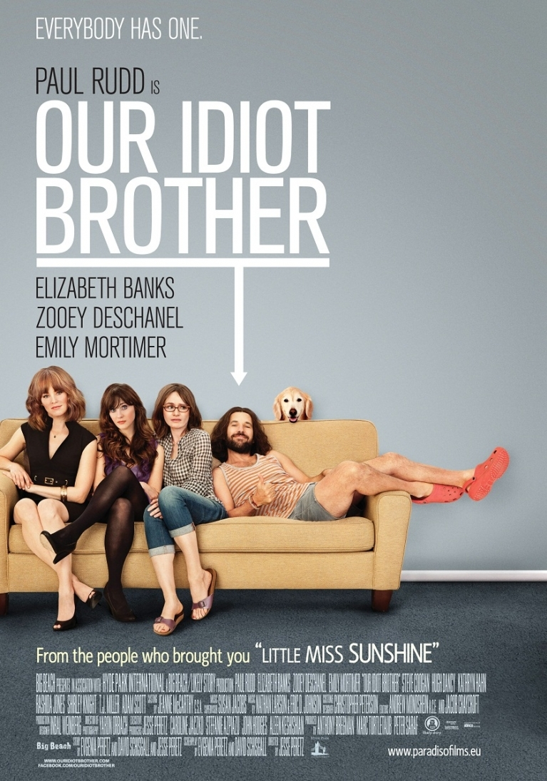 Our Idiot Brother poster, © 2011 Paradiso