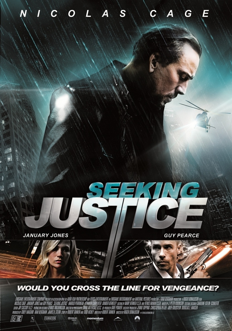 Seeking Justice poster, © 2011 Dutch FilmWorks