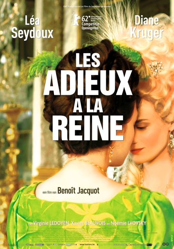 Les adieux à la reine poster, © 2011 Lumière
