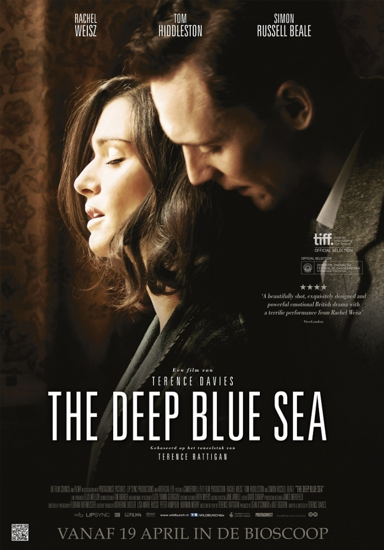 The Deep Blue Sea poster, © 2011 Wild Bunch