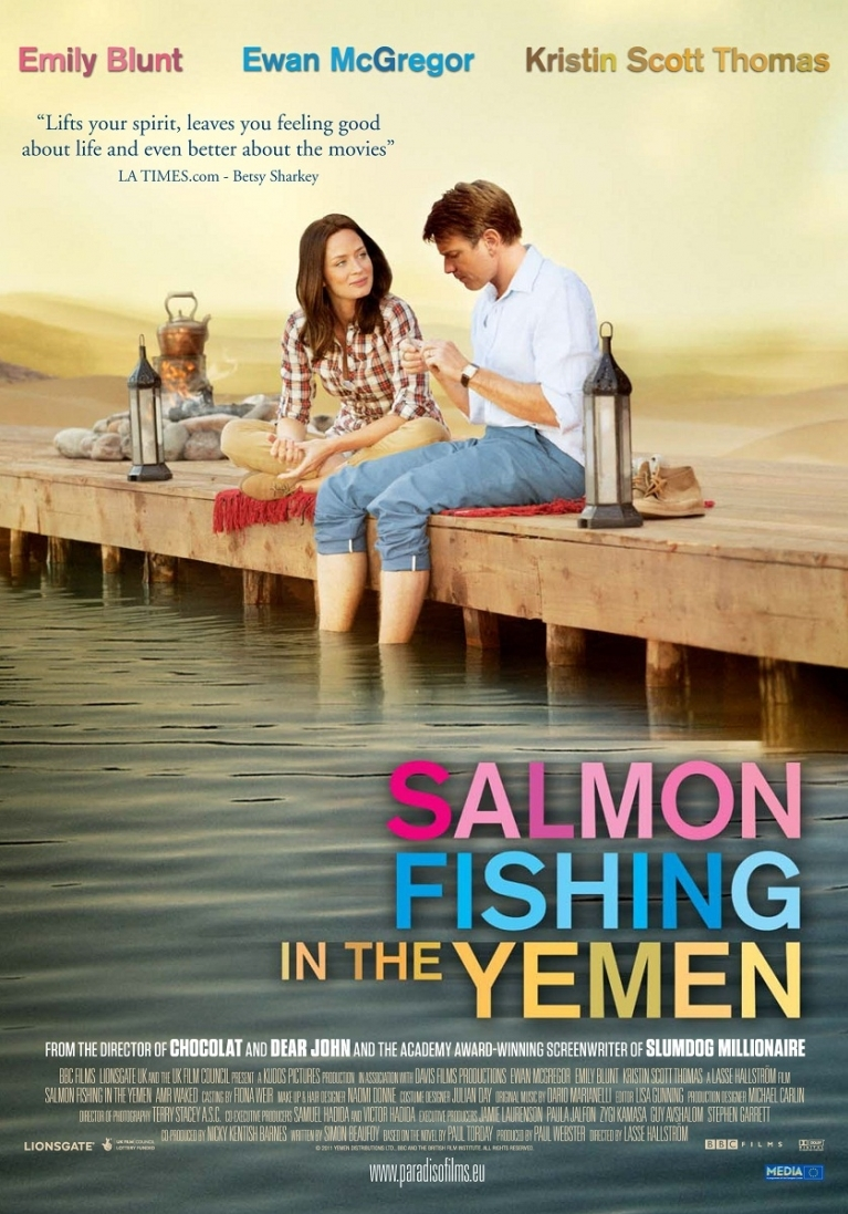Salmon Fishing in the Yemen poster, © 2011 Paradiso