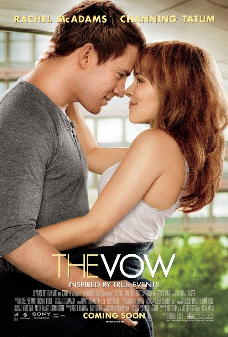 The Vow poster, © 2012 Sony Pictures Releasing