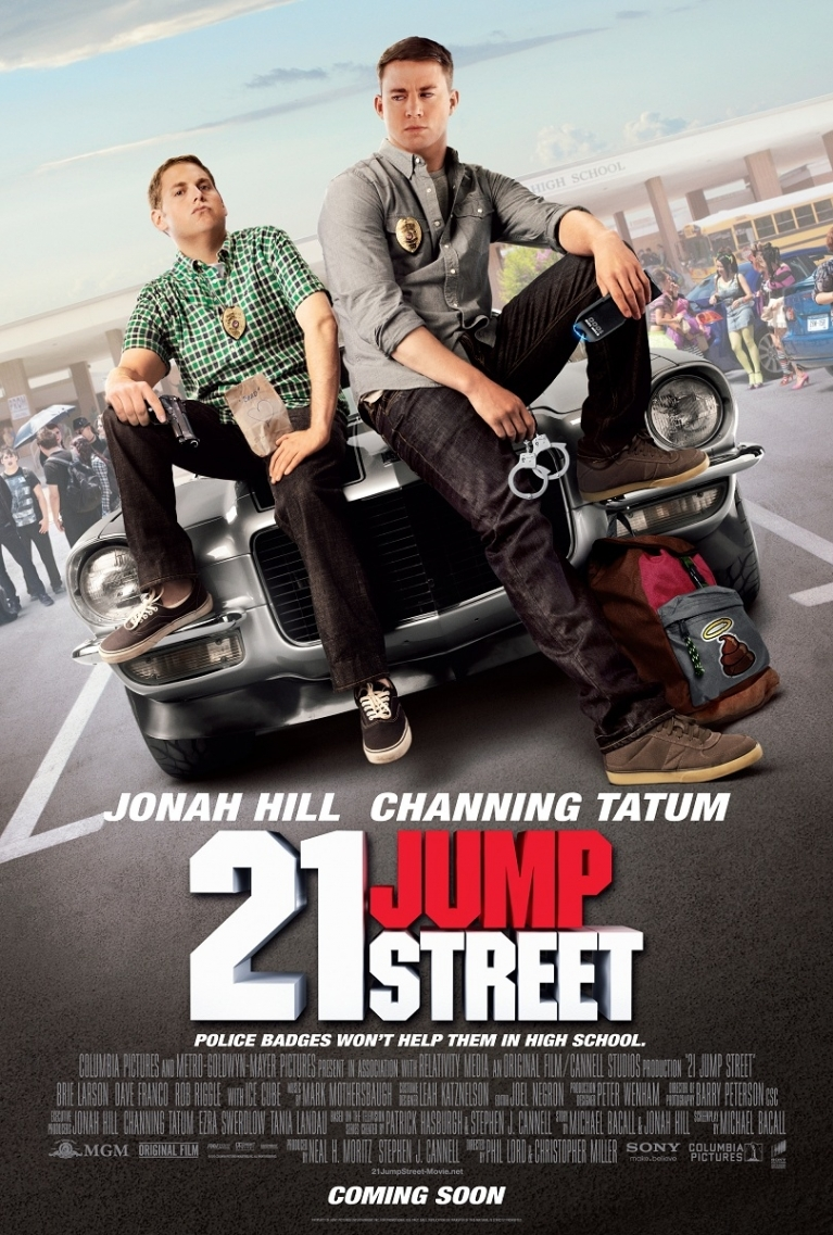 21 Jump Street poster, © 2012 Sony Pictures Releasing