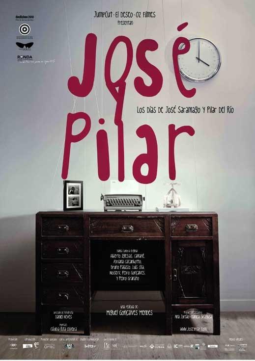 José e Pilar poster, copyright in handen van productiestudio en/of distributeur