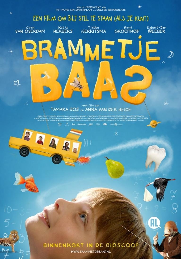Brammetje Baas poster, © 2012 Benelux Film Distributors