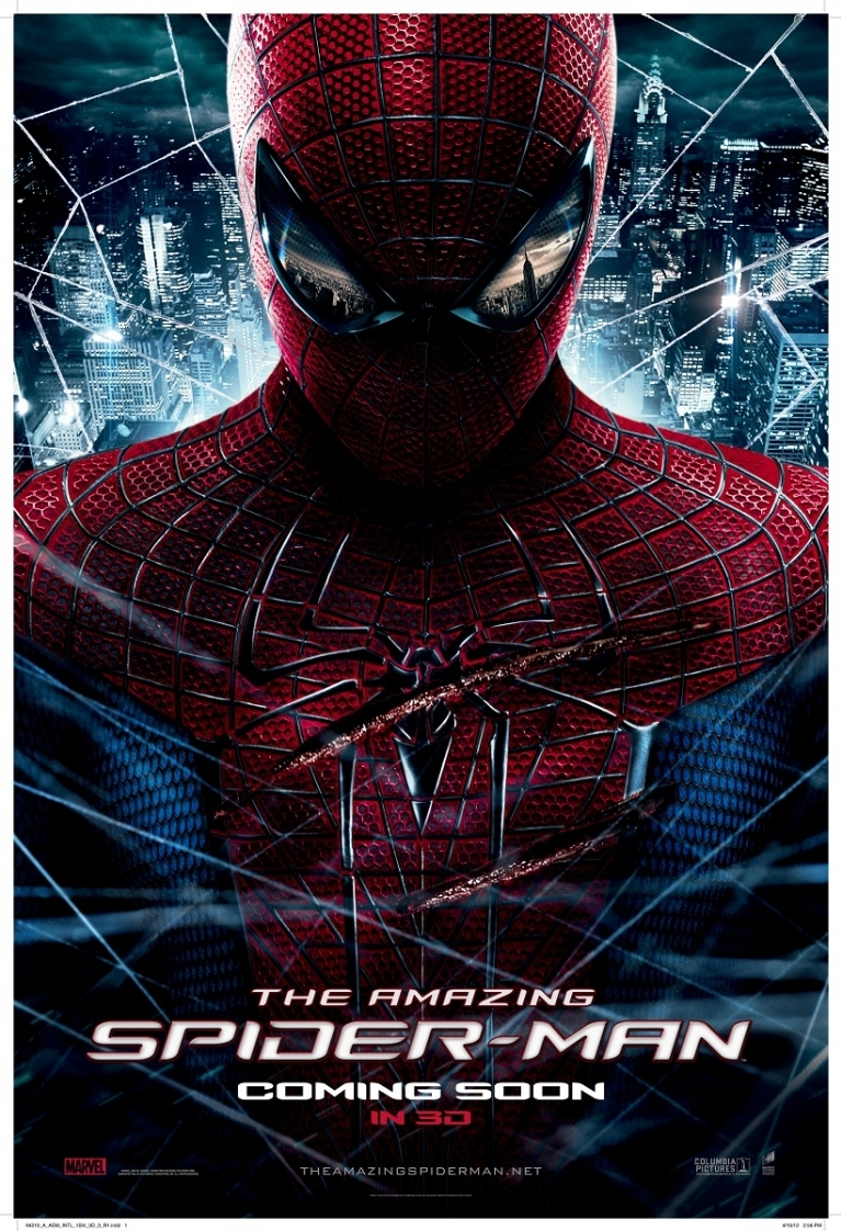 The Amazing Spider-Man poster, © 2012 Sony Pictures Releasing