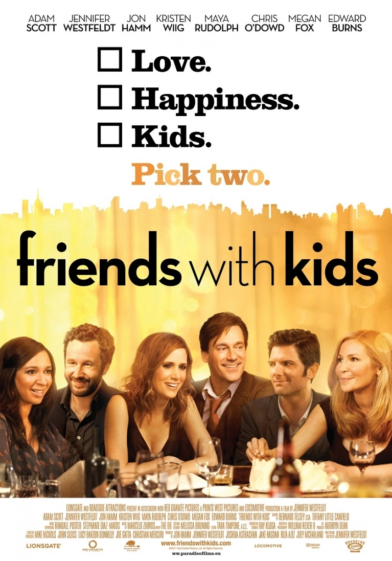 Friends with Kids poster, © 2011 Paradiso