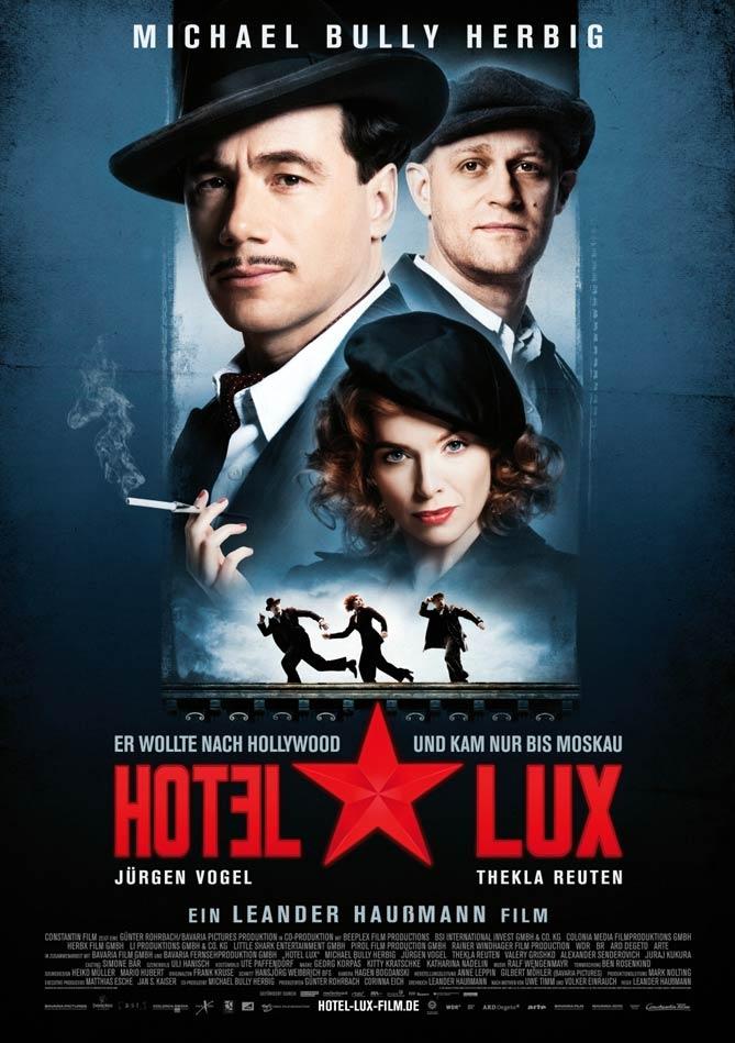 Hotel Lux poster, copyright in handen van productiestudio en/of distributeur