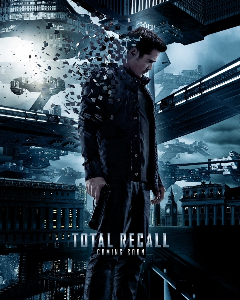 Total Recall poster, © 2012 Sony Pictures Releasing