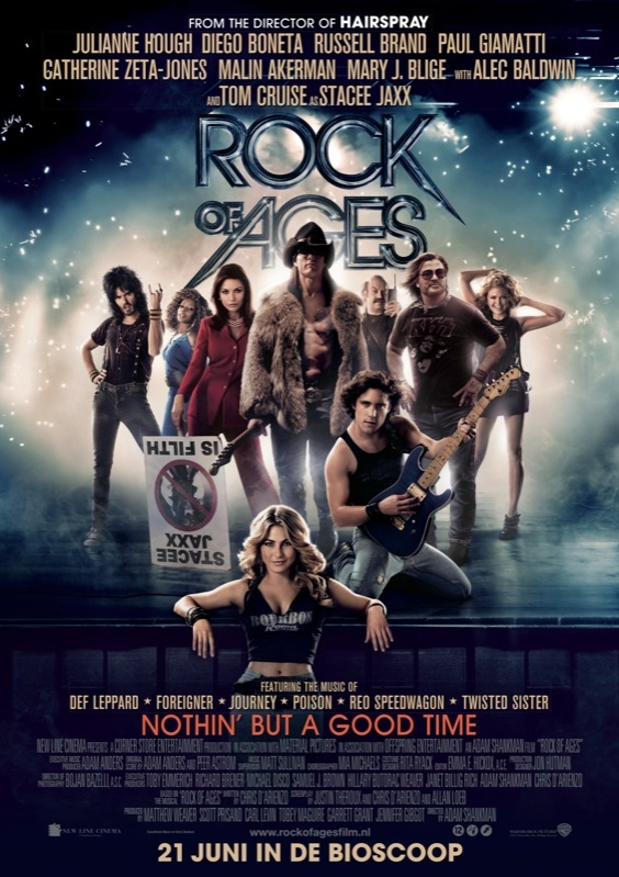 Rock of Ages poster, © 2012 Warner Bros.