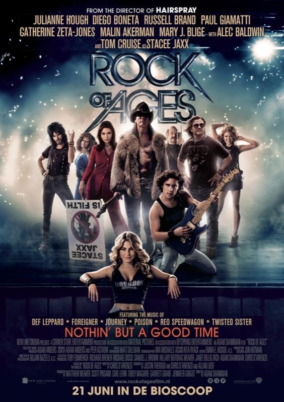 Rock of Ages poster, © 2012 Warner Bros.