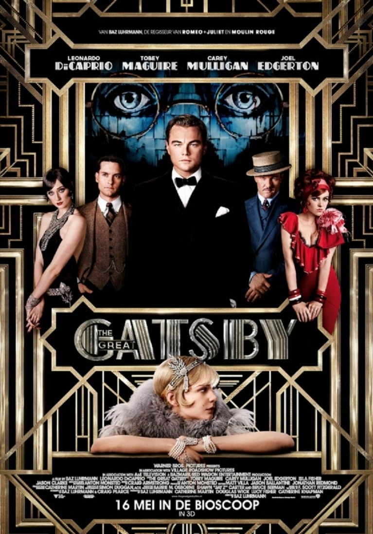 The Great Gatsby poster, © 2012 Warner Bros.