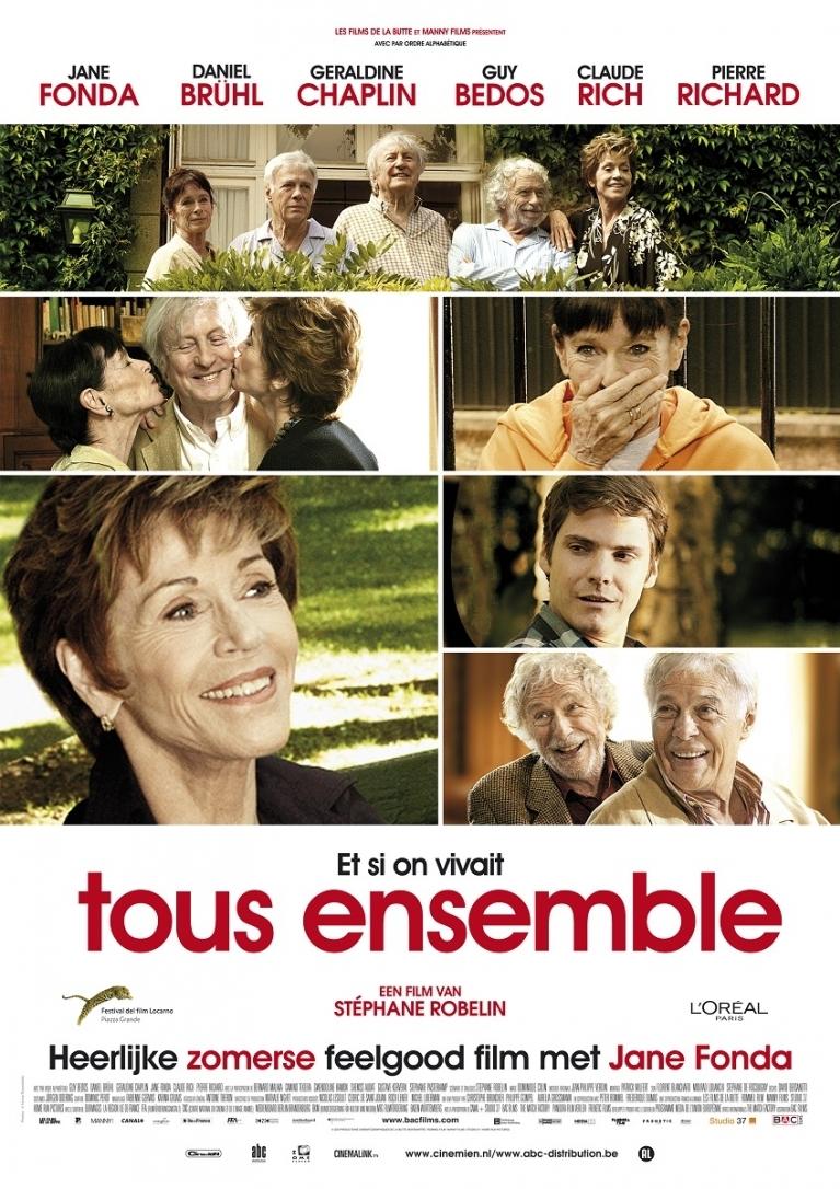 Et si on vivait tous ensemble? poster, © 2011 Cinemien