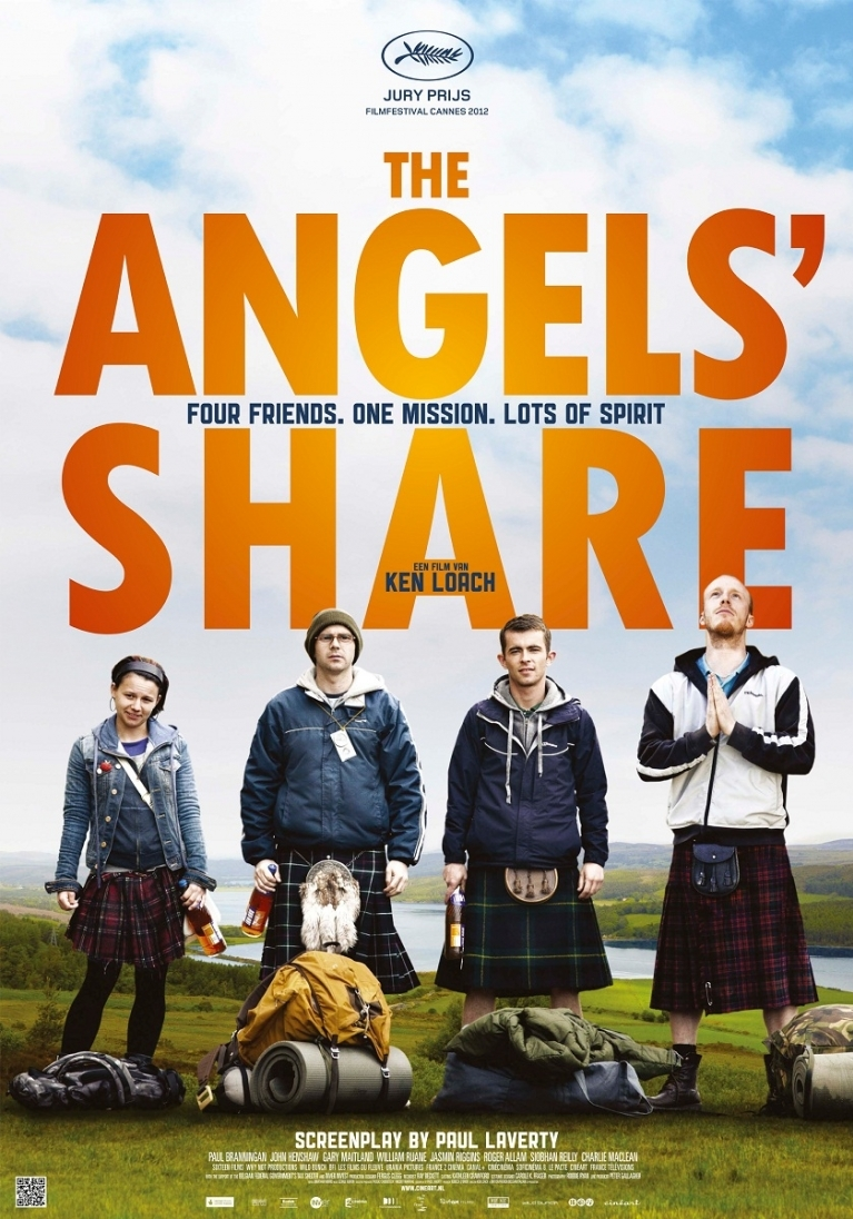 The Angels' Share poster, © 2012 Cinéart