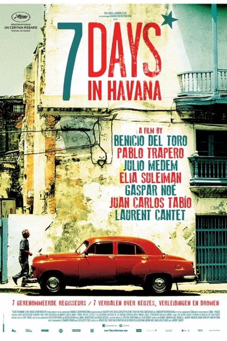 7 días en La Habana poster, © 2012 A-Film Distribution