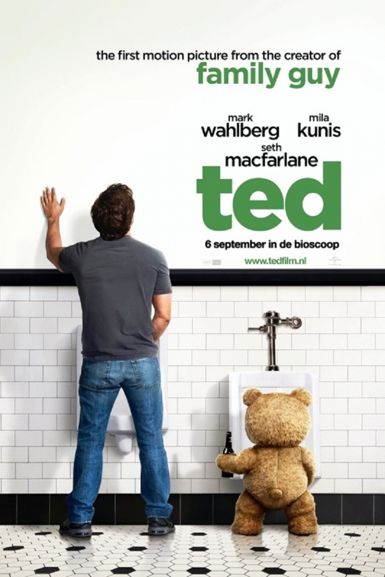 Ted poster, © 2012 Universal Pictures International