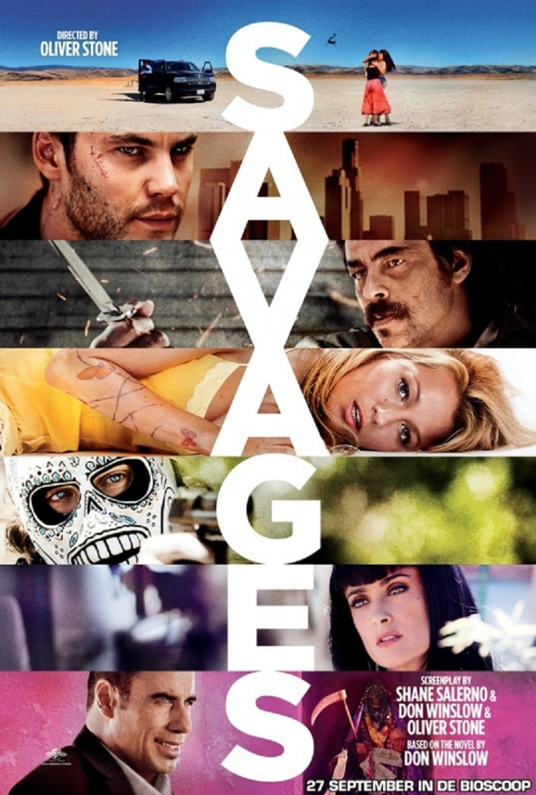 Savages poster, © 2012 Universal Pictures International