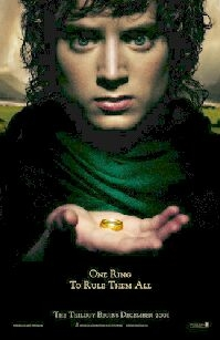 Poster 'The Lord of the Rings : The Fellowship of the Ring' © 2001 A-Film