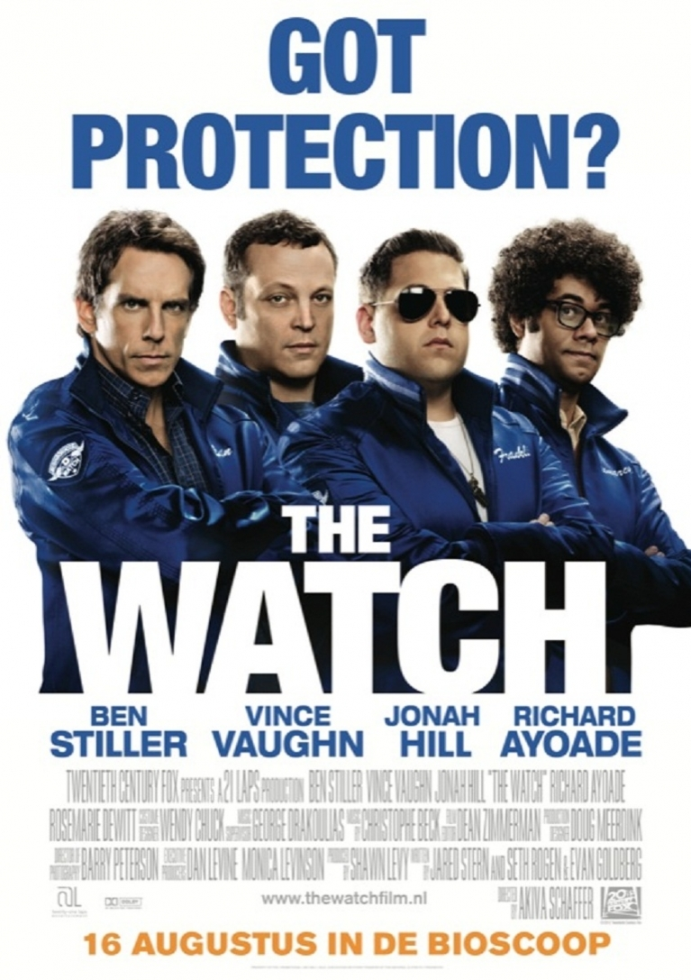 The Watch poster, © 2012 20th Century Fox