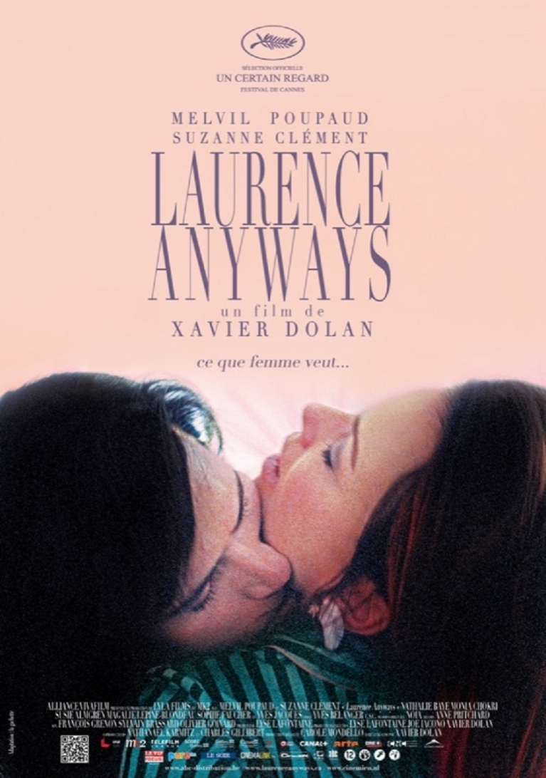 Laurence Anyways poster, © 2012 Cinemien