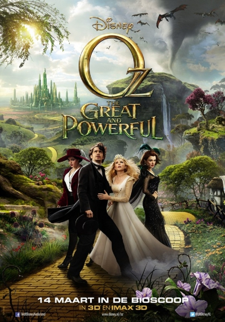 Oz: The Great and Powerful poster, © 2013 Walt Disney Pictures