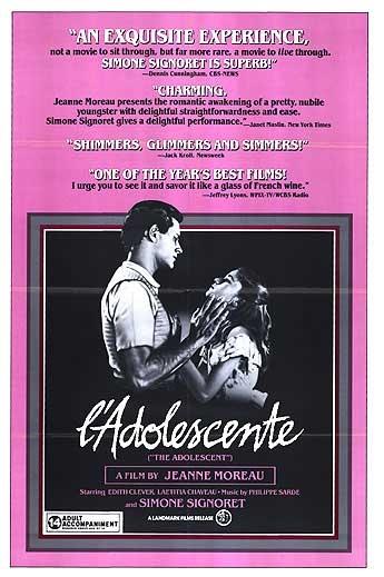 L'adolescente poster, copyright in handen van productiestudio en/of distributeur