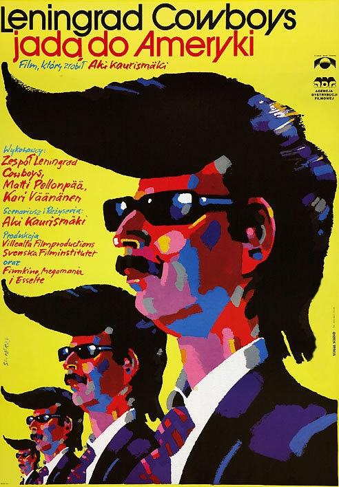Leningrad Cowboys Go America poster, copyright in handen van productiestudio en/of distributeur