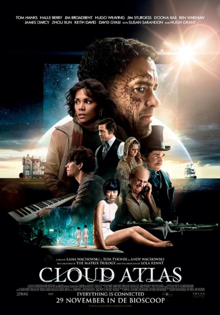 Cloud Atlas poster, © 2012 Benelux Film Distributors