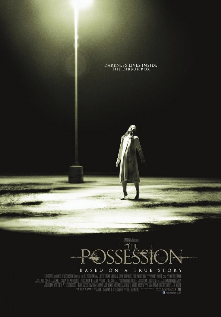 The Possession poster, © 2012 E1 Entertainment Benelux