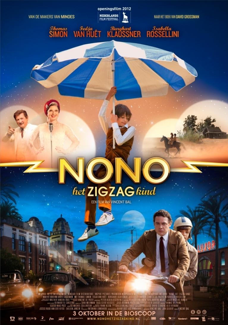 Nono, het Zigzag Kind poster, © 2012 Benelux Film Distributors