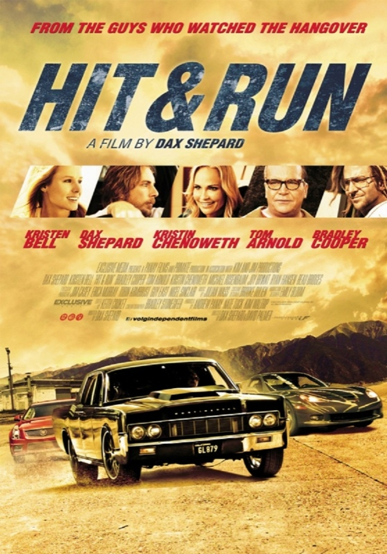 Hit and Run poster, © 2012 Independent Films