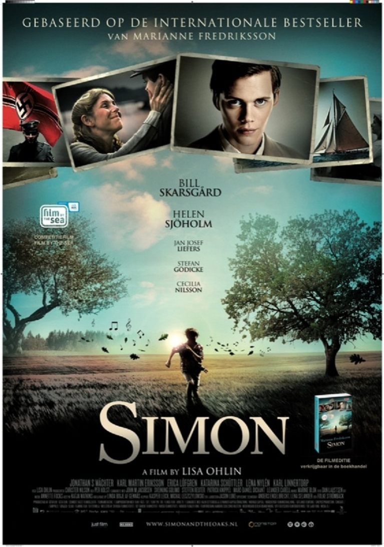 Simon och ekarna poster, © 2011 Just Film Distribution