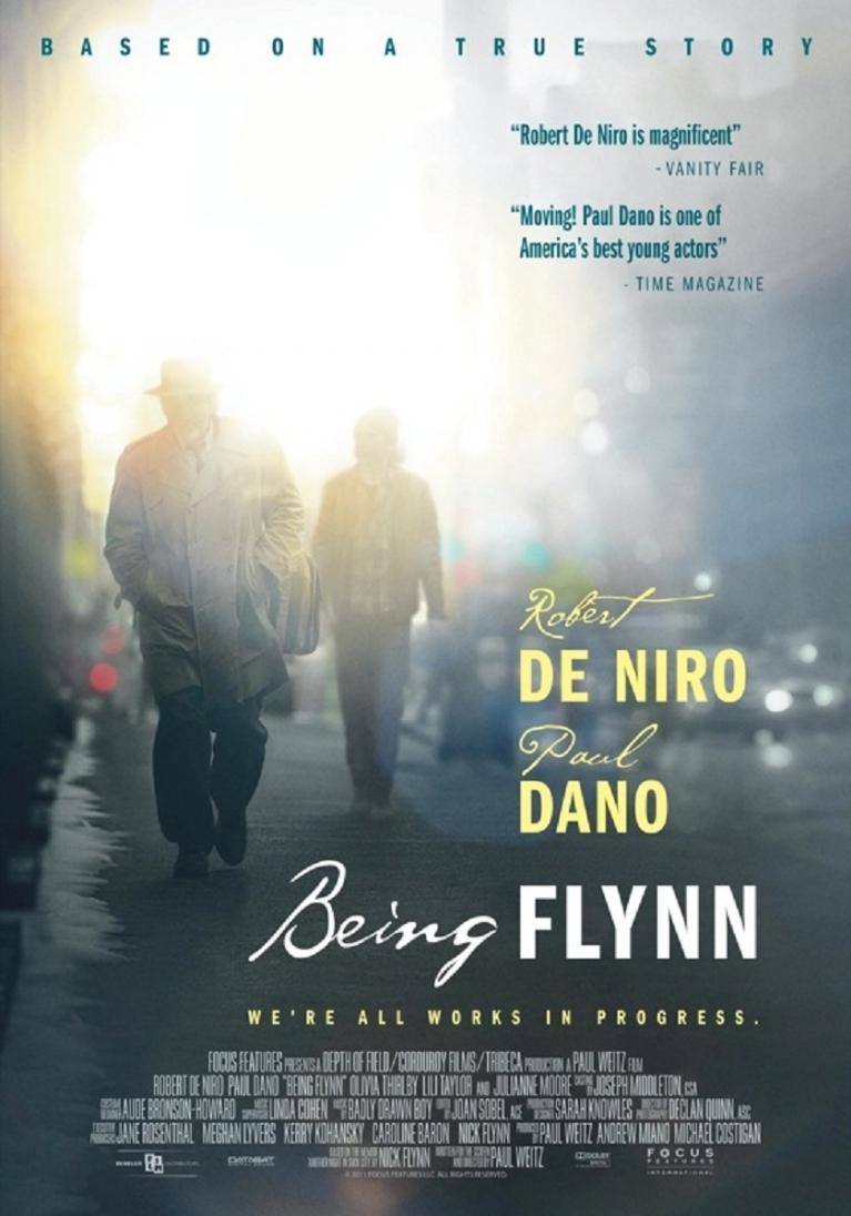 Being Flynn poster, © 2012 Benelux Film Distributors
