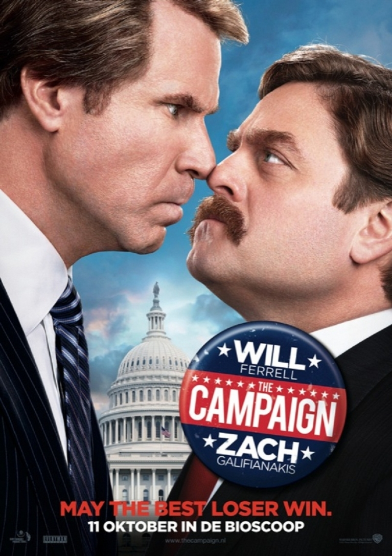 The Campaign poster, © 2012 Warner Bros.