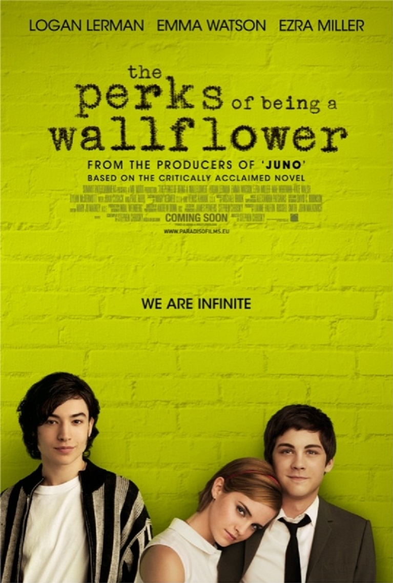 The Perks of Being a Wallflower poster, © 2012 Paradiso