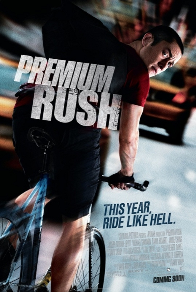 Premium Rush poster, © 2012 Sony Pictures Releasing