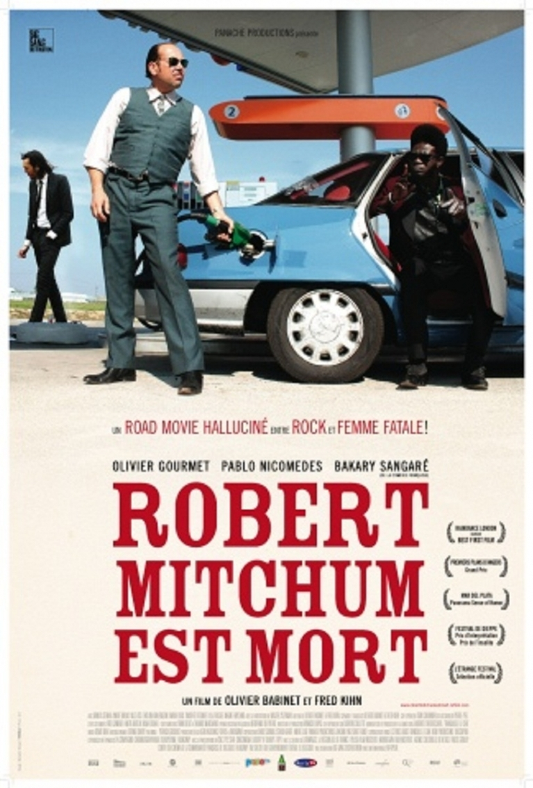 Robert Mitchum est mort poster, © 2010 Filmfreak Distributie