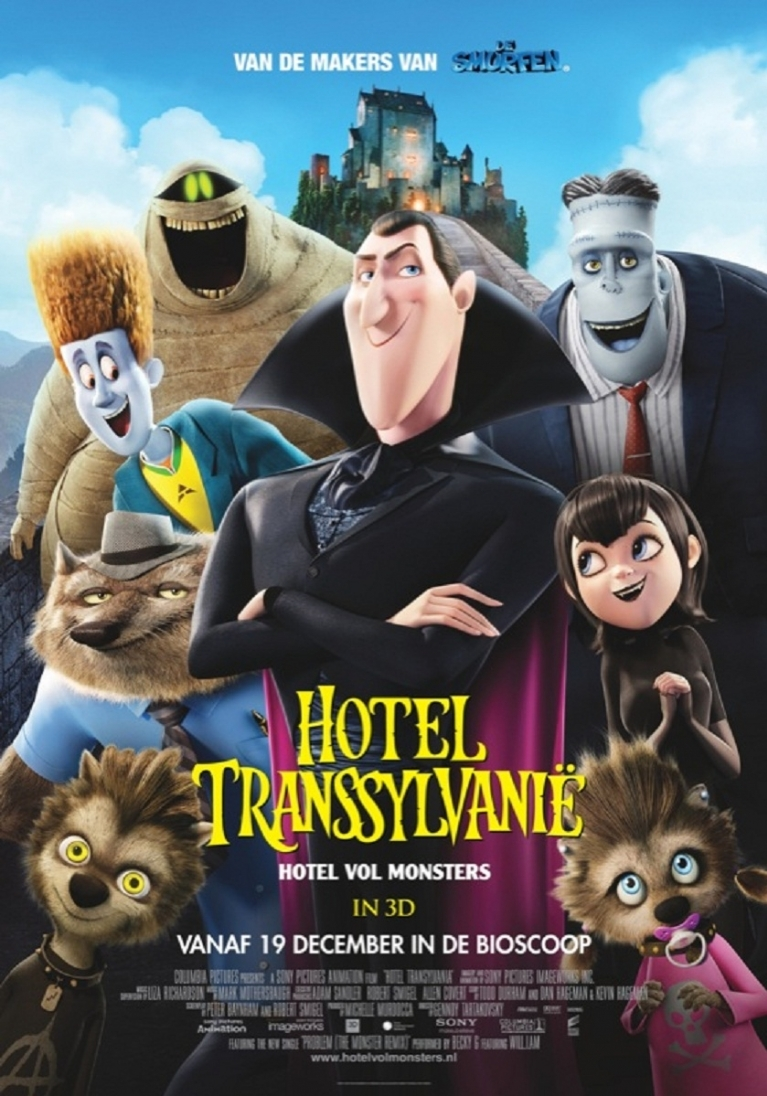 Hotel Transylvania poster, © 2012 Sony Pictures Releasing