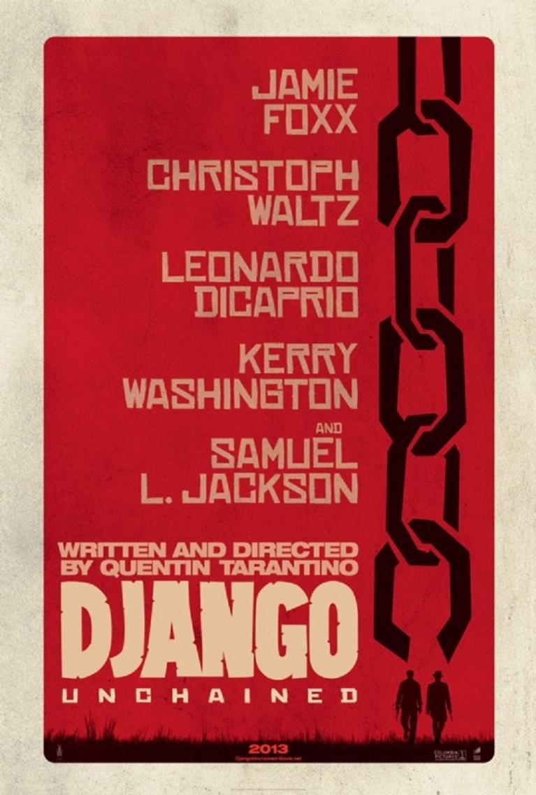 Django Unchained poster, © 2013 Sony Pictures Releasing