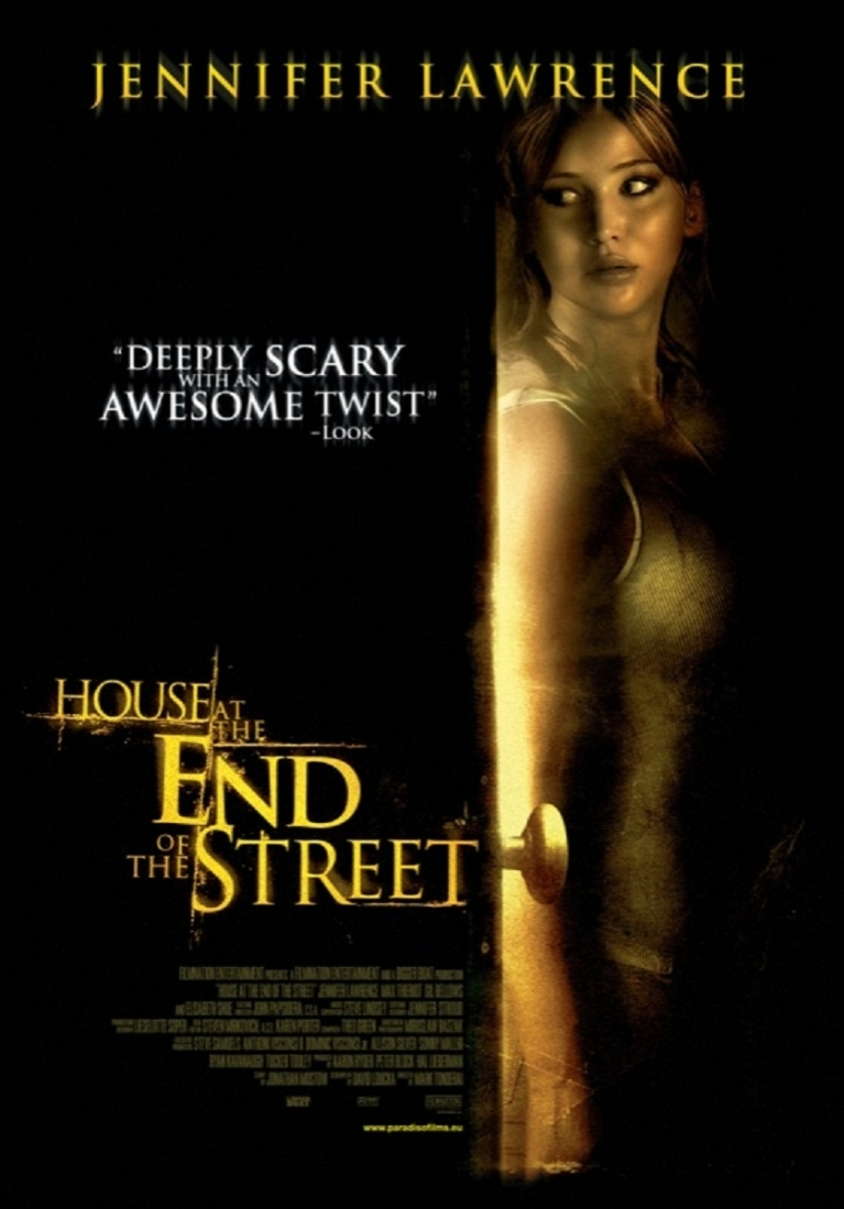 House at the End of the Street poster, © 2012 Paradiso