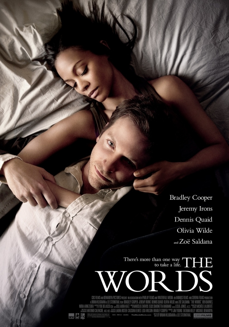 The Words poster, © 2012 Dutch FilmWorks