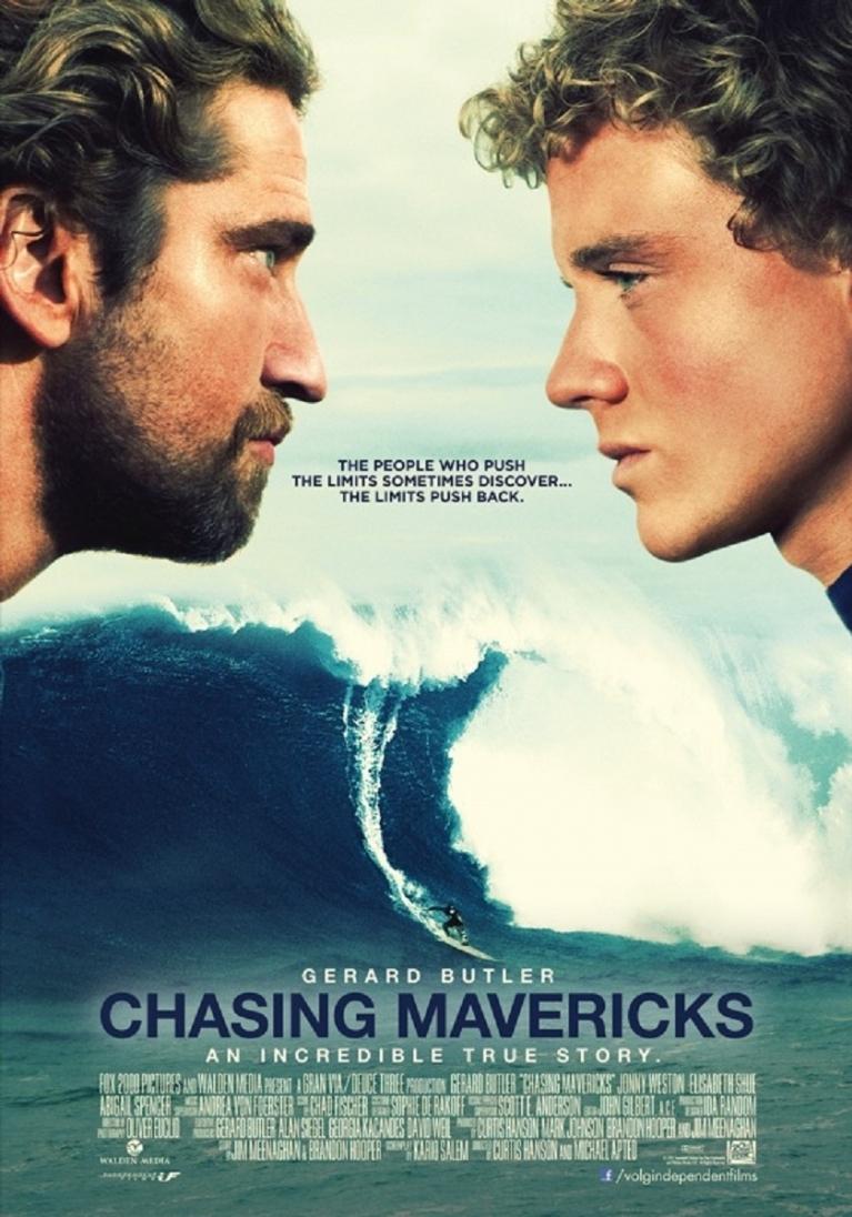 Chasing Mavericks poster, © 2012 Independent Films