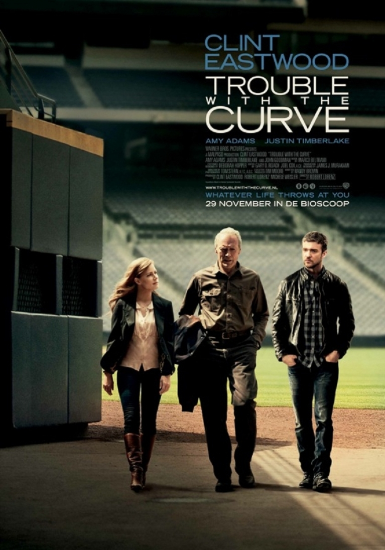 Trouble with the Curve poster, © 2012 Warner Bros.