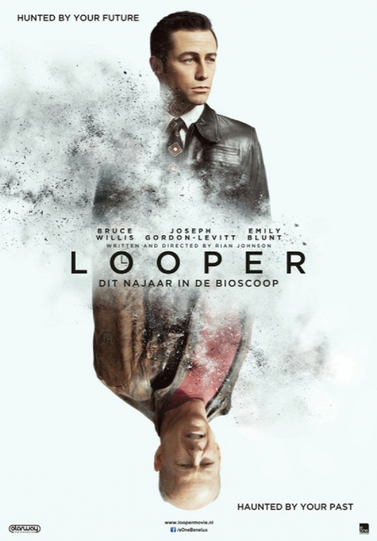 Looper poster, © 2012 E1 Entertainment Benelux